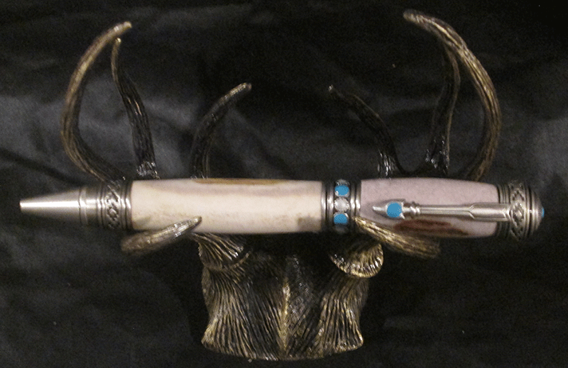 Deer antler and  Arrow Pen